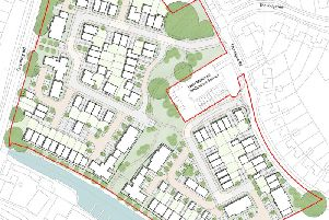 The proposals for 150 homes in Warwick. Image by Crest Nicholson.