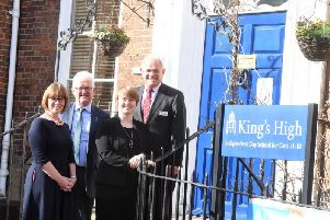 Left to right: Clare Waring (Wright Hassall) Richard Hardy (Bromwich Hardy) Alison Pearce (Wright Hassall) David Stevens (Warwick Independent Schools Foundation)