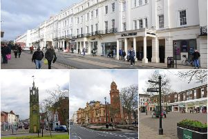 Photos of Leamington and Kenilworth which have been names as two of the best places to live in the Midlands.