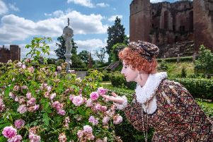 People can expect to find Queen Elizabeth I and Robert Dudley in full costume dress during the pageant weekend event held at the Elizabethan Gardens of Kenilworth Castle