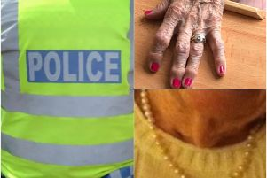 Police are appealing for help in tracking down the stolen jewellery. Photos supplied by Warwickshire Police.