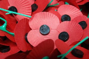 Poppies gv. Photo by The Royal British Legion.