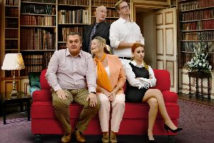 Leighton Buzzard Drama Group staging Natural Causes