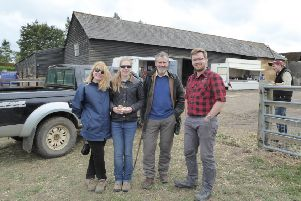 The family on the day of the farm sale