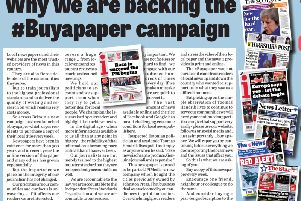 Why we are backing the #Buyapaper campaign