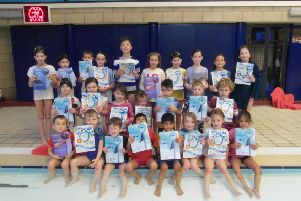 The Linslade Crusaders would be devastated to lose its young swimmers. Here are the Learn to Swim Saturday club with awards: Penguin 1- Roshni, Nikhil, Milan, Daniel, Penguin 2- Harvey, Penguin 3-Joshua, Gisella, Harry, Jack, Otter 1- Alex, Willow, Lucy, Otter 2- Isla, Bethany, Charlie, Sofia, Sophie, 5m, Thomas, Robin, Charlotte, Lucy, Mylo, Roshni, 10m, Thomas, Charlotte, Harvey, Jacob, Ella, Mylo 25m- Henry, Amy, Willow, Esther, Lucy, 50m- Rupert, Charlie, Sofia, Sophie, Alex, Clownfish award- Bethany, Jessica, Molly, Robin. Isla, Bethany, Charlie, Sofia, Sophie and Rupert who will move into the main pool in January and join the Dolphins 'stroke improvement session'.