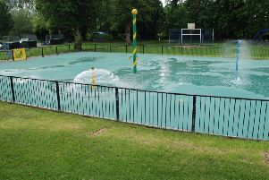 Leighton Buzzard splash park
