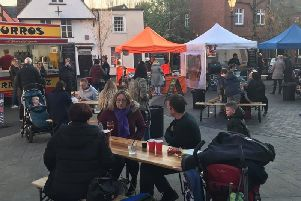 A Street Food Heroes event