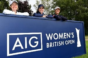 The Women's British Open will be played at Woburn this weekend