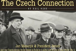 The front cover of Neil Rees new book The Czech Connection