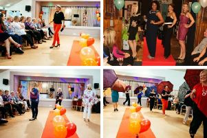 Catwalk fun: a previous So You Boutique fashion show for charity.
