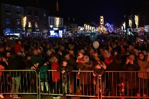 Leighton Buzzard Christmas Lights 2019. Photo: Jane Russell