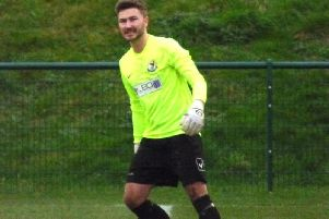 Leighton Town goalkeeper Brad Kirkwood  (Picture by Andrew Parker)