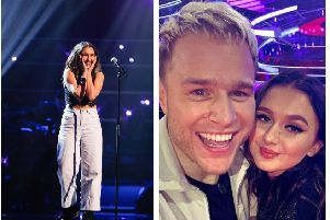 The audition. Credit: ITV. Cameo and Olly. Credit: Cameo. Lyrics are the most important element for Cameo and if you would like to listen to her work, she recommends 'Wildfire'. Her influences include Amy Winehouse, Palace, Lana Del Rey and Lily Allen.