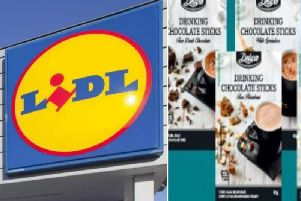Lidl is recalling four varieties of its Deluxe Drinking Chocolate Sticks