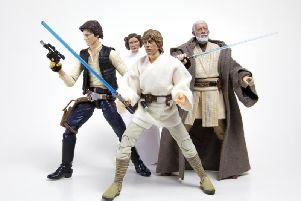 Use the force: Star Wars figures
