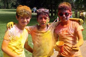 Lisburn and Castlereagh City Council Colour Run in Wallace Park. Click on the image above or link below to launch our gallery from the event