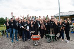 M&S staff bring garden to life at Brookfield