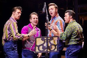 Jersey Boys runs at the Grand Opera House, Belfast, from September 11 to 22.
