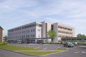 Pictures: Work due to start on £40m health hub in Lisburn