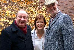 Donna Traynor caught up with Damon Quinn (Cal) and Tim McGarry (Da) to find out how you can apply for tickets to the Give My Head Peace Christmas Special being recorded in BBC Blackstaff studios, Belfast on Monday 10 December