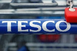 The thefts from the Tesco stores happened over an eight-day period last February