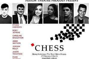 Final rehearsals for Fusion's Chess