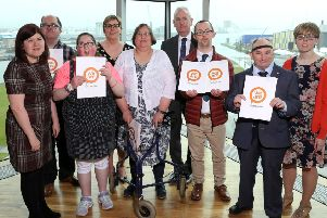 Charity praises service users