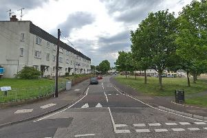 The incident occurred in The Green area of Lisburn. Pic by Google