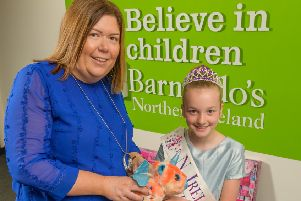 'Charity queen' collects toys for Barnardo's