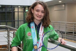 Sarah-Louise goes for gold at Special Olympics