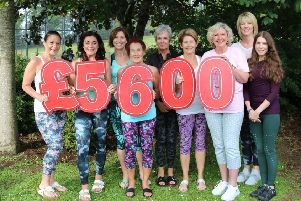 Hillsborough yoga ladies go the extra mile to raise funds for charity