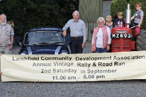 Larchfield gears up for road run