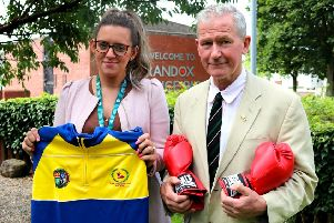 Randox chooses boxing club as charity partner