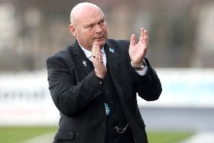 Ballymena United boss David Jeffrey. Pic by INPHO.