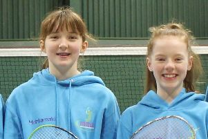 Roisin McKenna and Paige Woods were in outstanding form in the Munster U15 Open