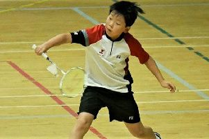 Jeffrey Rong in action