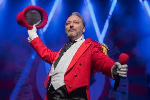 Roll up! Roll Up! The showman is coming