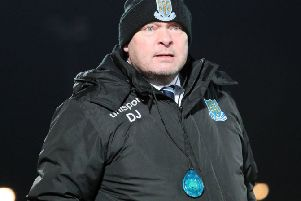 Ballymena United manager David Jeffrey. Pic by Pacemaker.