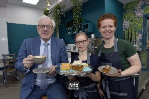 Stepping Stones cafe '2nd Avenue' opens its doors in Antrim Street