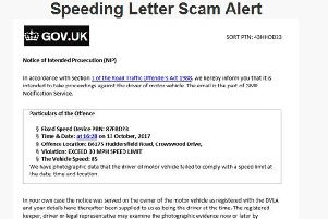 The scam letter that should be ignored!