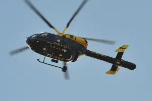 Police helicopter called to early morning break-in