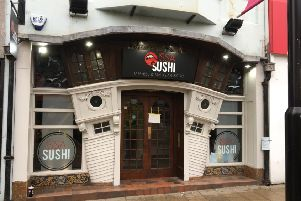 Issa Sushi in South Street, Worthing is opening its doors this afternoon
