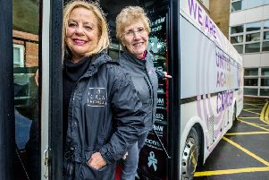 Angmering-based cancer support charity Cancer United has received �750 from CALA Homes to help maintain its support bus which provides mobile support around the community.