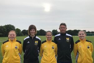 Newly-formed AFC Littlehampton Ladies have received a funding grant
