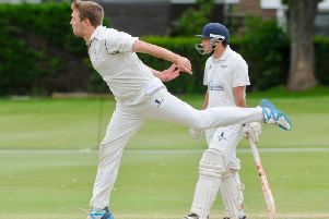 Seamer Ryan Budd picked up five wickets as Littlehampton beat Pagham 2nd XI. Picture by Stephen Goodger