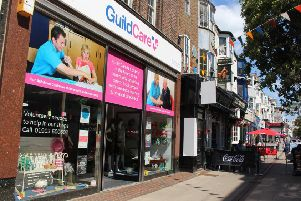 Guild Care's Warwick Street shop is now open on Sundays