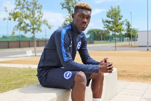 Yves Bissouma - picture by Kieran Cleeves/BHAFC.