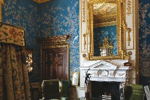 The Cabinet room at Houghton.
