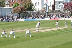 It's over at Hove - the ground has seen its final day of Sussex cricket for 2018